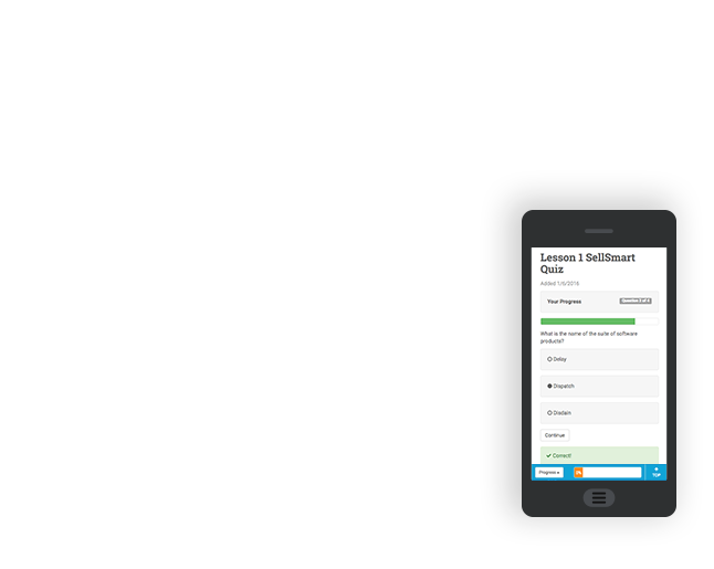 Access the intuitive user interface on any device.